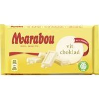 Marabou マラボウ ホワイトチョコレート 185g スゥエーデンのチョコレートです