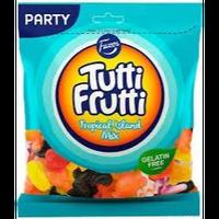 Fazer Tutti Fruttiトゥッティ フルッティ トロピカル アイランド グミ 350g*1袋 グルテンフリー フィンランドのお菓子です