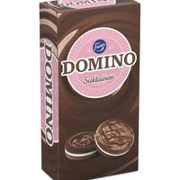 Fazer ファッツェル ドミノ チョコレートカバー ビスケット 1 箱 x 354g フィンランドのビスケットです