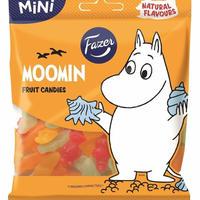 Fazer Moomin ファッツエル ムーミン グミ 1袋80g入り×2袋 フィンランドのお菓子 ムーミンの形のグミ