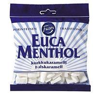 ファッツェル ユーカリ&メンソール のど飴 200g×1袋 FAZER EUCAMENTHOL PASTILLIPUSSI 200 G