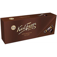 Karl Fazer カール・ファッツェル ダーク チョコレート 270g×1 箱 フィンランドのチョコレートです