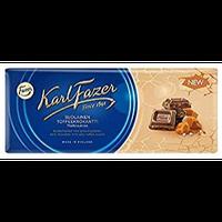 Karl Fazer 塩キャラメル味 ミルクチョコレート 200g 10枚セット フィンランドのチョコレートです