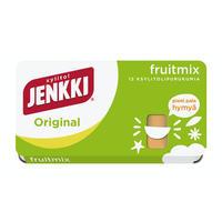 Cloetta Jenkki クロエッタ イェンキ フルーツミックス味 キシリトール ガム 4箱×18g フィンランドのお菓子です