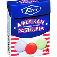 Fazer アメリカン パスティリ チョコレート 50g×4箱セット フィンランドのチョコレートです