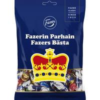 Fazer ファッツェル Parhain filled キャンディー 1 袋 x 220g フィンランドのキャンディーです