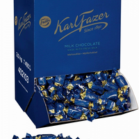 Karl Fazer カール・ファッツェル ミルクチョコレート バルク 3 kg 一箱 フィンランドの有名なお菓子です