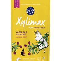 Fazer ファッツェル ムーミン ラズベリー & フルーツ チューインガム 1 袋 x 100g フィンランドのチューインガムです