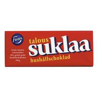 Fazer ファッツェル TALOUSSUKLAA ダーク チョコレート 1 袋 x 200g フィンランドのチョコレートです
