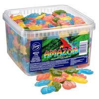 Fazer ファッツェル アマゾン フルーツ 盛り合わせ グミ 1 箱 x 2kg フィンランドのグミです