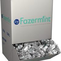 Fazer Mint Chocolate ファッツェル ミント クリーム チョコレート バルク 3kg 一箱  フィンランドのチョコレートです