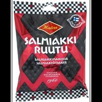 Halva ハルヴァ Salmiakkiruutu サルミアッキ ルーツ グミ 170g 1袋 フィンランドのお菓子です