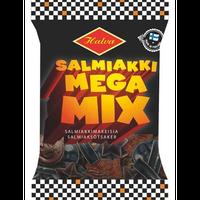 Halva ハルヴァ サルミアッキ メガ ミックス 163g ×1袋 フィンランドのお菓子です Salmiakki Mega Mix