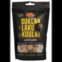 Halva ハルヴァ チョコレート サルミアッキ ボール 140g ×1袋 フィンランドのお菓子です