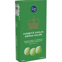 Fazer ファッツェル グリーン ゼリー グミ 1 箱 x 260g フィンランドのグミです