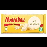 Marabou マラボウ ホワイトチョコレート 185g ×10枚 セット スゥエーデンのチョコレートです