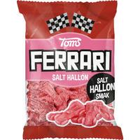 Toms FERRARI トムズ フェラーリ 車型 ラズベリー味 グミ デンマークのお菓子です 12袋×120g デンマークのお菓子です