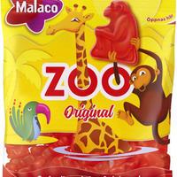 Malaco マラコ Zoo 動物園フルーツ味グミ4袋 x 80g スウェーデンのお菓子です
