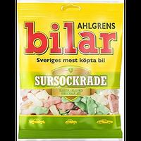 Bilar スゥエーデン 車型 ビーラル 酸っぱい サワー マシュマロ グミ 110g×10袋セット スゥエーデンのお菓子です