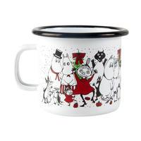Muurla (ムールラ) ムーミン ホーロ マグカップ 冬の魔法 2.5DL