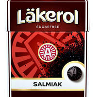 Cloetta Lakerol クロエッタ ラケロール サルミアッキ味 24箱×25g スゥエーデンのハードグミです