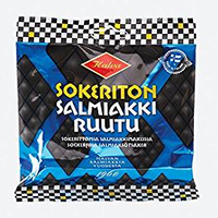 Halva ハルヴァ シュガーフリー サルミアッキ ルーツ 90g×2袋セット フィンランドのお菓子です Sokeriton Salmiakkiruutu