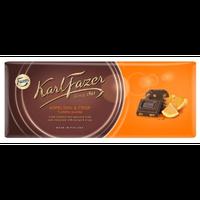 Karl Fazer オレンジ ダーク チョコレート 200g 1枚 フィンランドのチョコレートです