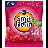 Fazer Tutti Fruttiトゥッティ フルッティ レッド ストロベリー ラズベリー味 グミ 80g* 2 袋 フィンランドのお菓子です