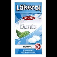 レイクロール デンツ 36g x 24箱セット メンソール 味 キシリトール キャンディ フィンランドのお菓子です Läkerol Dents Menthol 36g