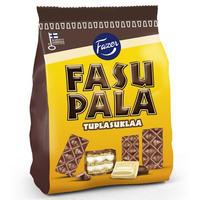 Fazer ファッツェル ファスパラ ダブル チョコレート ウエハース 9 袋 x 215gセット フィンランドのウエハースです