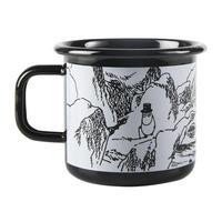 Muurla (ムールラ) ムーミン ホーロー マグカップ TROLL 3,7DL