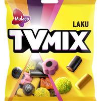 Malaco TV Mix テレビ ミックス ラクリッツ リコリス 8袋×325g 北欧のお菓子です
