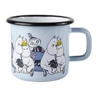 Muurla (ムールラ) ムーミン フレンズ ホーローマグカップ ブルー 3,7DL