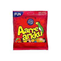 Fazer Aarrearkku ファッツエル 宝箱 アーレアック グミ 280g × 1袋 フィンランドのお菓子です