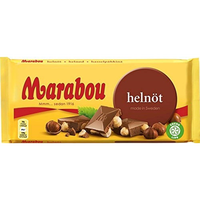 Marabou マラボウ 木の実 板チョコレート 200g スゥエーデンのチョコレートです
