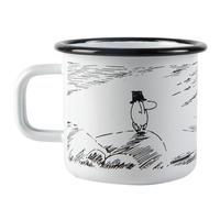 Muurla (ムールラ) ムーミン ホーロー マグカップ 孤独 3,7DL