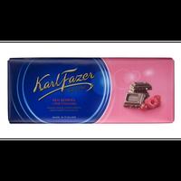 Karl Fazer ラズベリー&クランベリー味 チョコレート 200g 10枚セット フィンランドのチョコレートです