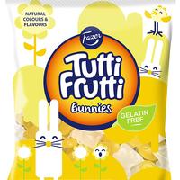 Fazer Tutti Fruttiトゥッティフルッティ ウサギ型 バニーズ フルーツ 洋ナシ味 グミ 150g* 1袋 フィンランドのお菓子です