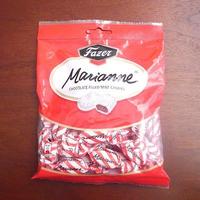 ファッツェル(Fazer) マリアンネ ミント チョコ キャンディー 赤 220g入り×7袋セット  フィンランドのお菓子です