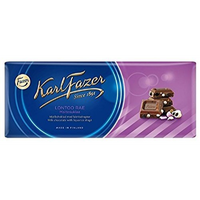Karl Fazer ラクリッツ味 ミルクチョコレート 200g 1枚 フィンランドのチョコレートです
