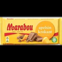 Marabou マラボウ オレンジ 板チョコレート 200g ×10枚 セット スゥエーデンのチョコレートです