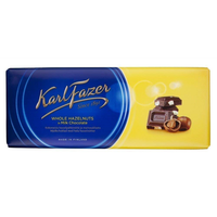 Karl Fazer ヘーゼルナッツ味 チョコレート 200g 10枚 フィンランドのチョコレートです