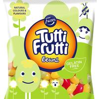 Fazer Tutti Fruttiトゥッティフルッティ グミ ビーンズ イチゴ ラズベリー 洋ナシ味 130g* 2袋 フィンランドのお菓子です