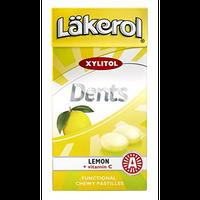 レイクロール デンツ 36g x 1箱  レモン味 キシリトール キャンディ フィンランドのお菓子です