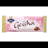 ファッツェル ゲイシャ ミルク チョコレート(ナッツ入り)100g入り×2パック  フィンランドのお馴染みなお菓子です