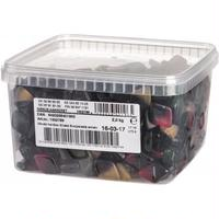 Malaco Aakkoset Sirkus マラコ アーコセット サーカス フルーツ&サルミアッキ グミ 1箱×2kg 北欧のお菓子です
