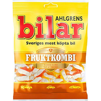 Bilar スゥエーデン 車型 ビーラル マシュマロ&フルーツ味 グミ 125g×1袋 スゥエーデンのお菓子です