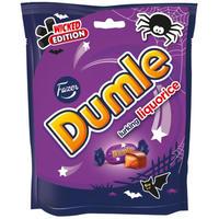 Fazer ファッツェル ドゥムレ リコリス 邪悪版 チョコレート 1 袋 x 220g フィンランドのチョコレートです