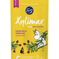 Fazer ファッツェル ムーミン ラズベリー & フルーツ チューインガム 10 袋 x 100gセット フィンランドのチューインガムです