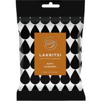Fazer ファッツェル ラクリッツ ソフト キャラメル リコリス 1 袋 x 150g フィンランドのリコリスです